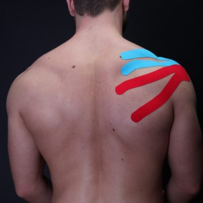Тейпирование плечевого сустава часть 4