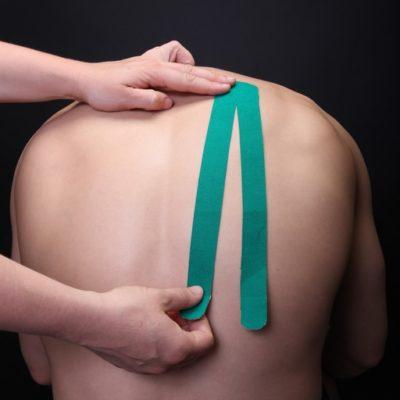 Тейпирование при остеохондрозе фото 1