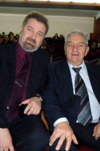 Субботин Ф. А. с профессором И.З. Самосюком